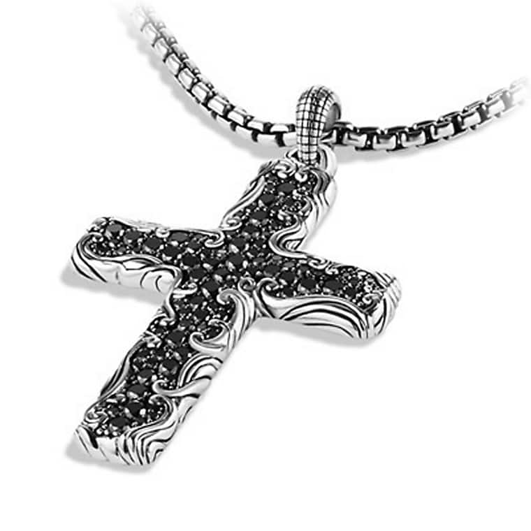 Waves cross necklace waves cross necklace aloadofball Images