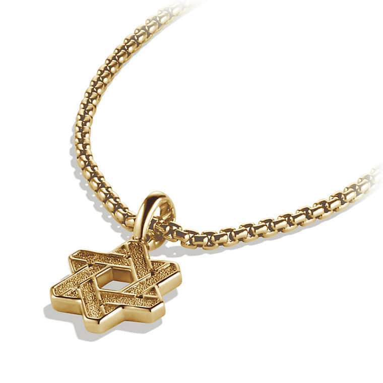 Star of David in 18K Gold