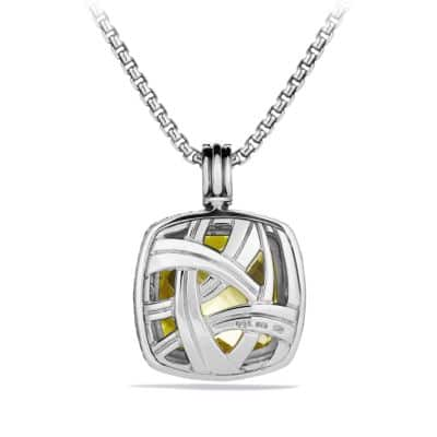 Albion Pendant with Lemon Citrine and Diamonds