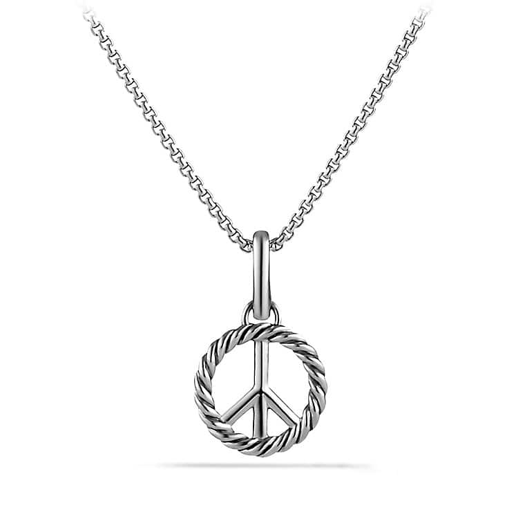 Cable Collectibles Peace Sign Charm