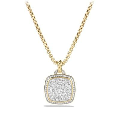 Pendant with Diamonds in 18K Gold