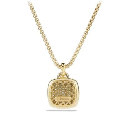 Albion® Pendant with Diamonds in 18K Gold, 17mm