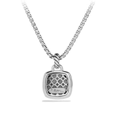 Albion® Pendant with Black Diamonds, 14mm