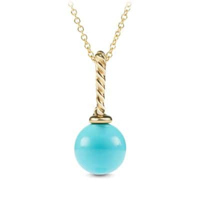 Pendnt with Turquoise in 18K Gold