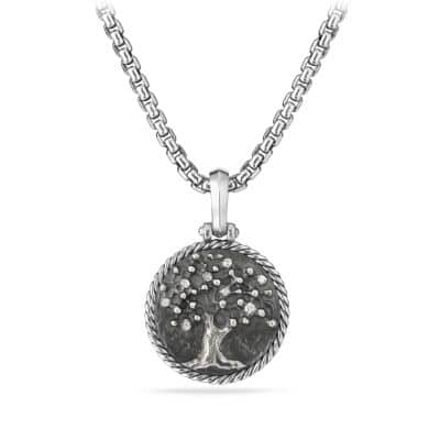 Cable Collectibles Tree of Life Amulet with Diamonds