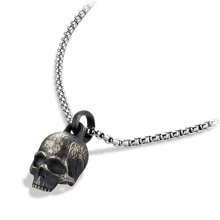 Waves Skull Amulet