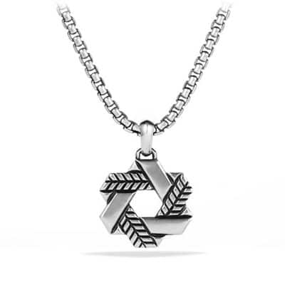 Modern Chevron Star of David