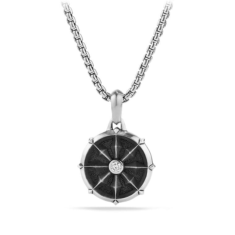 Wheel amulet with diamonds dharma wheel amulet with diamonds aloadofball Gallery