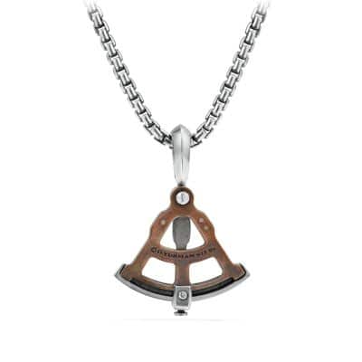 Maritime® Sextant Amulet with Bronze