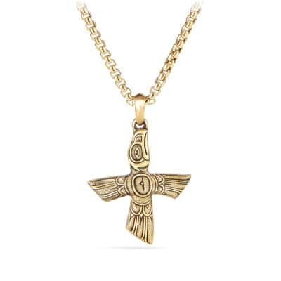 Northwest Bird Amulet in 18K Gold