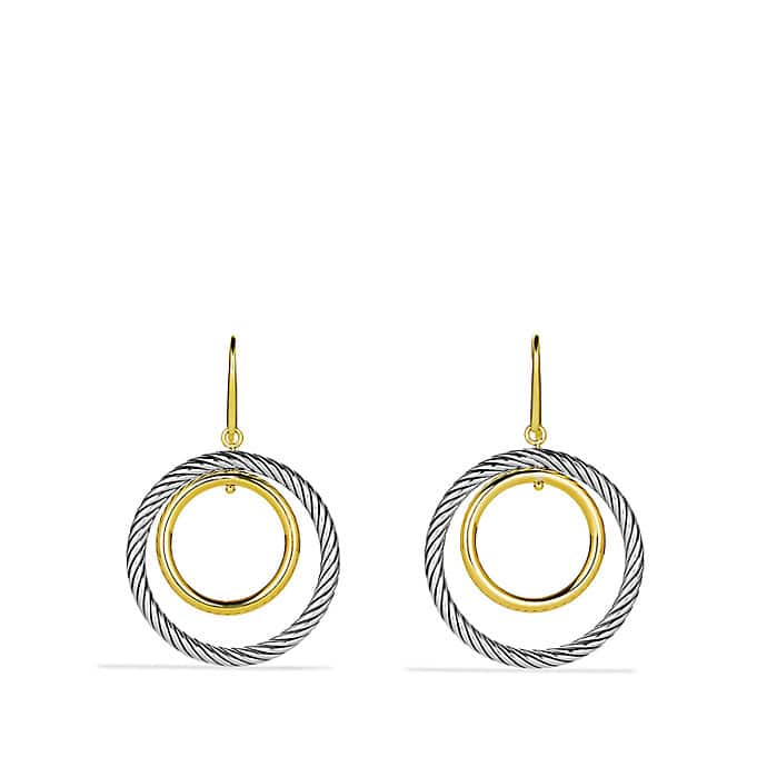 Mobile Earrings with Gold