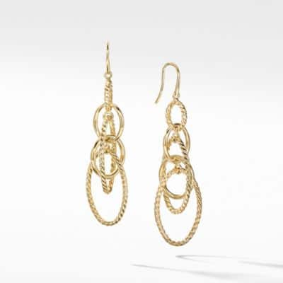 Mobile Chain Earrings in 18K Gold