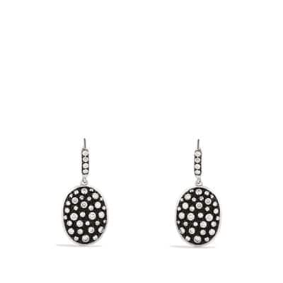 Midnight Mélange Drop Earrings with Diamonds