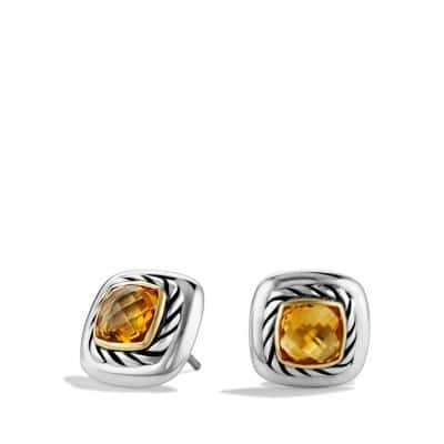 Albion Earrings with Citrines and Gold