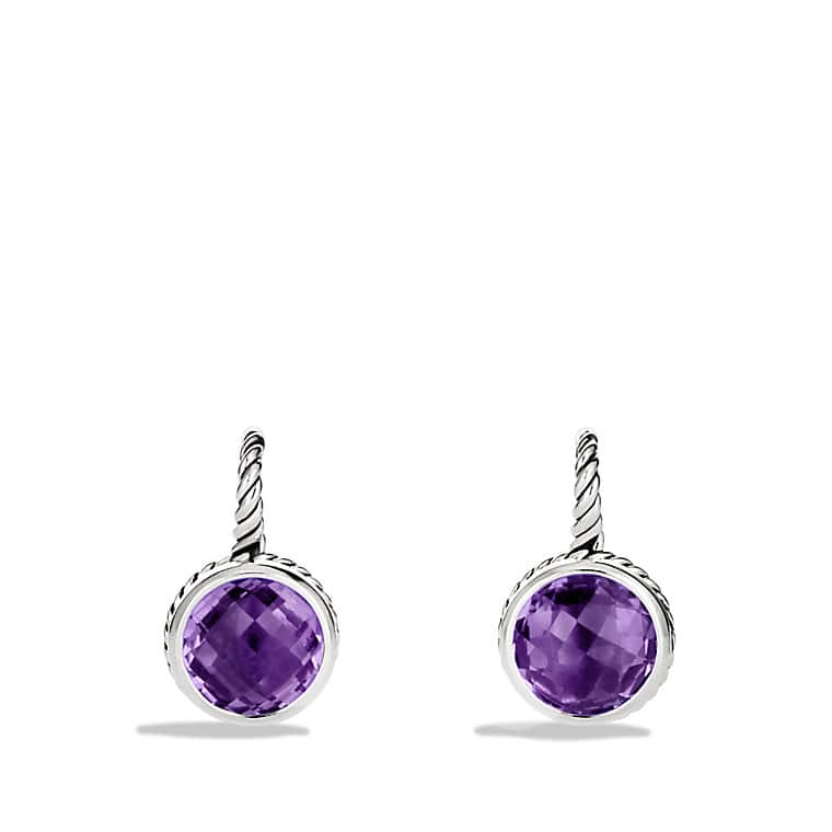 Color Classics Drop Earrings with Amethyst