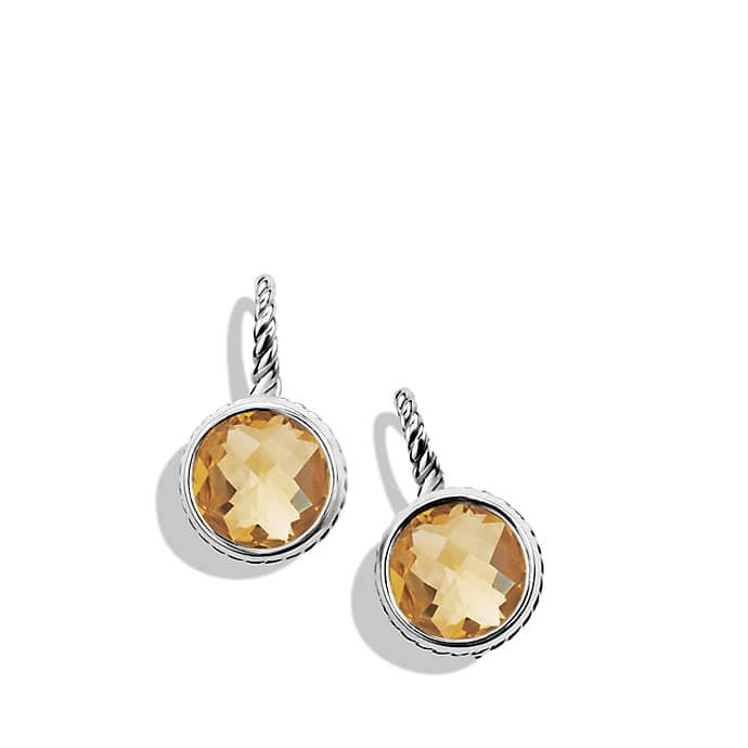 Color Classics Drop Earrings with Champagne Citrine