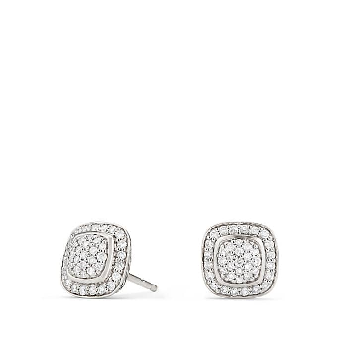 Petite Albion Earrings with Diamonds
