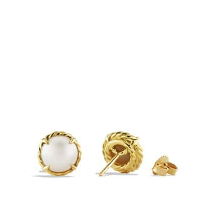 Earrings with Pearl in 18K Gold