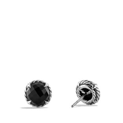 Châtelaine Earrings with Black Onyx