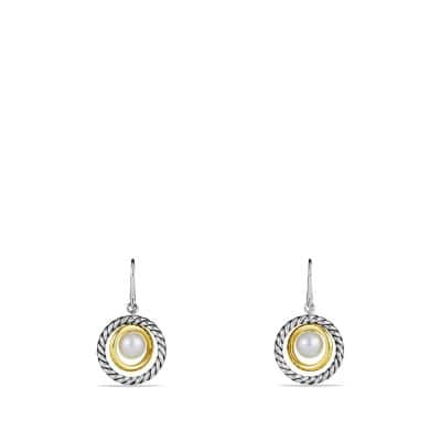 Mobile Drop Earrings with Pearls and 14K Gold
