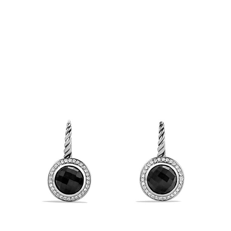 Color Classics Drop Earrings with Black Onyx and Diamonds