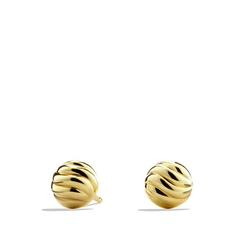 index flower gold plated stud seviljewelry earring