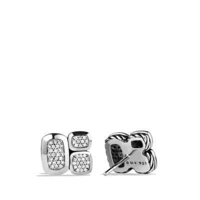 Confetti Stud Earrings with Diamonds