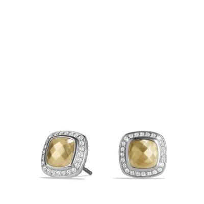 Albion Earring with Diamonds and 18K Gold