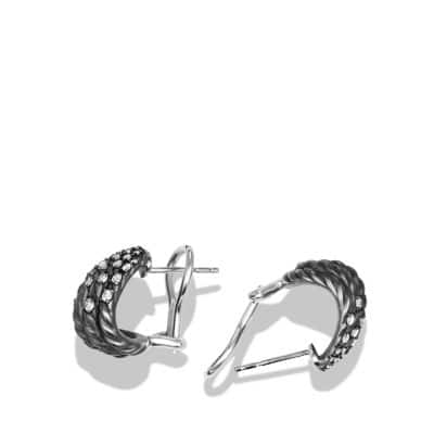 Tempo Earrings with Diamonds