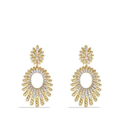 Earrings with Diamonds in 18k Gold