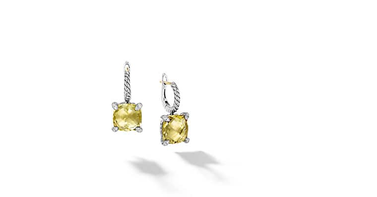 plated earrings citrine buttercup buds ir lemon with monroe drop gold chain alex