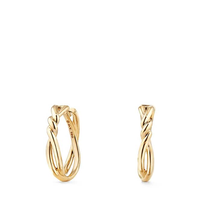 Continuance® Hoop Earrings in 18K Gold