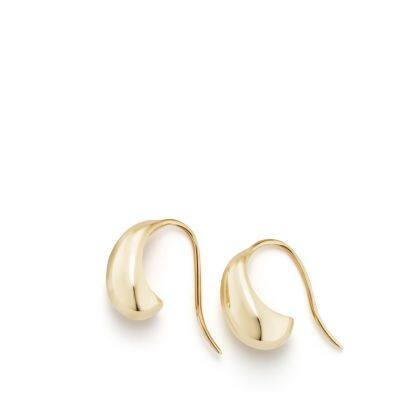 Pure Form® Pod Earrings in 18K Gold, 15mm