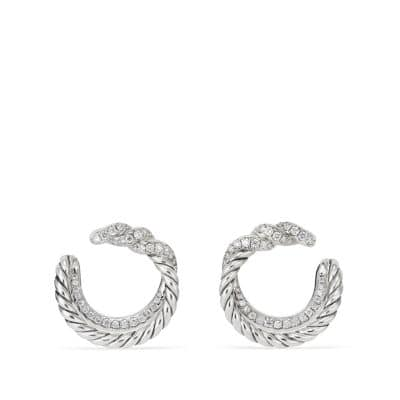 Continuance Hoop Earrings with Diamonds