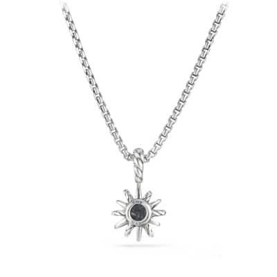 Starburst Kids Necklace with Diamonds, 8mm