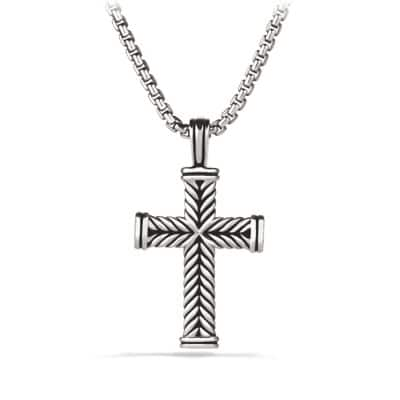 Chevron Cross Necklace