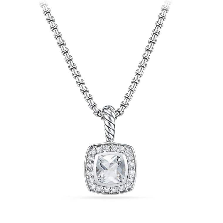 topaz in jewelry prism product metallic white gold and necklace silverwhite lagos sterling lyst silver