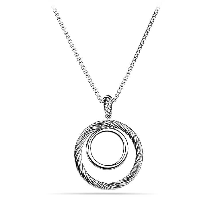 Mobile Pendant Necklace with Diamonds