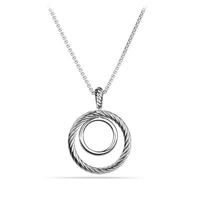 Mobile Small Pave Pendant Necklace with Diamonds