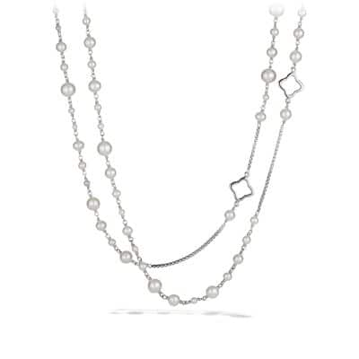 Bijoux Chain Necklace with Pearls