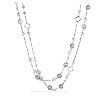 Bijoux Bead and Chain Necklace