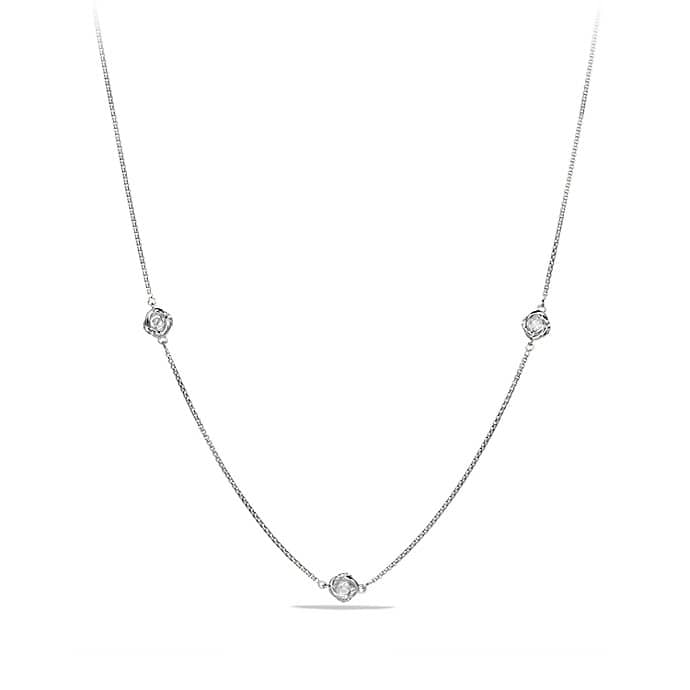 Infinity Necklace with Diamonds