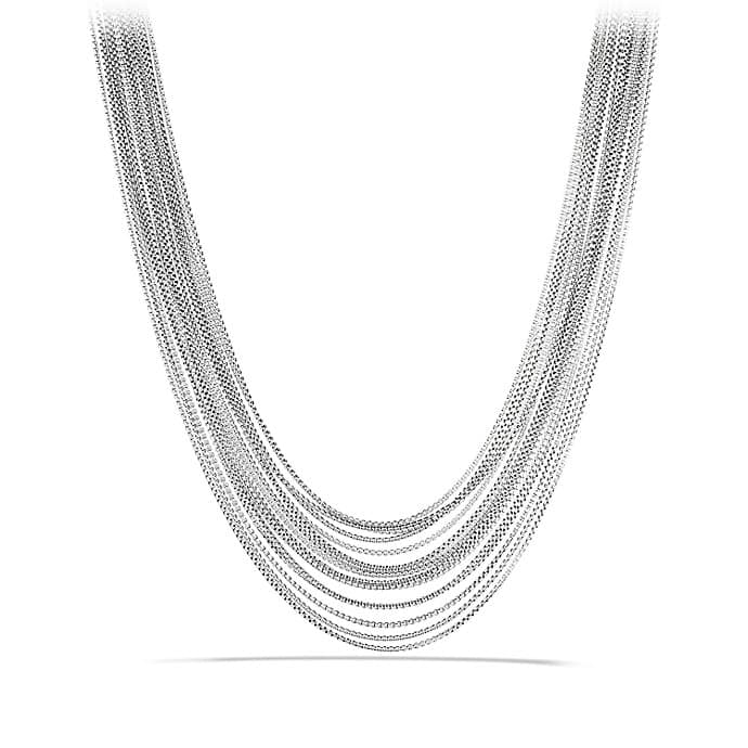 Sixteen-Row Chain Necklace