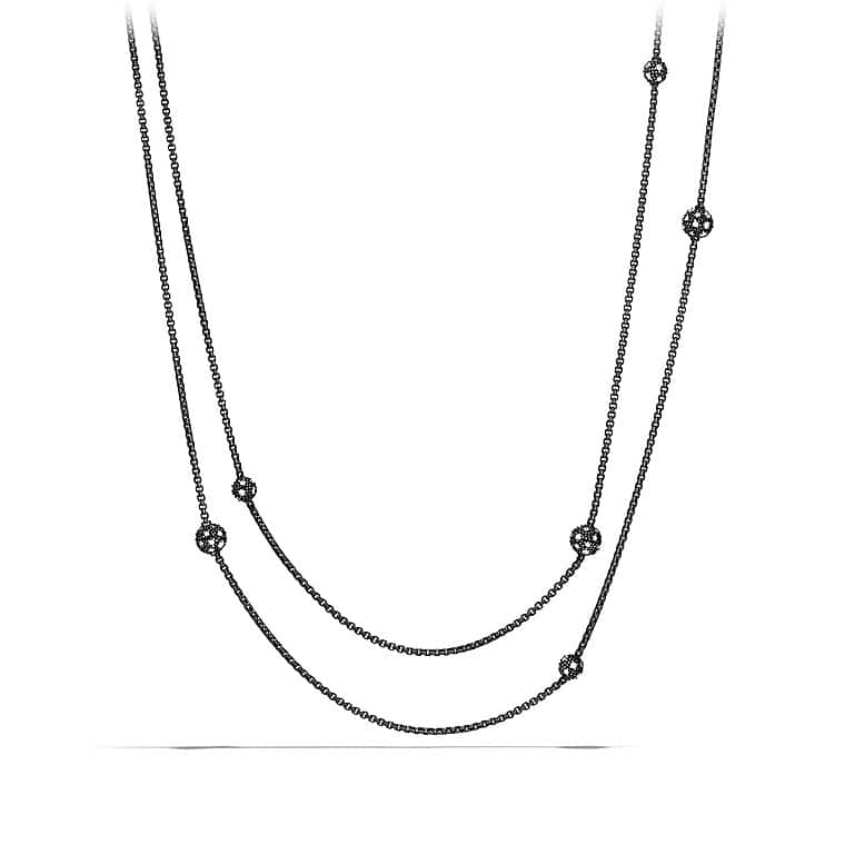 Midnight Mélange Chain Necklace with Diamonds