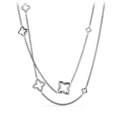Quatrefoil Chain Necklace