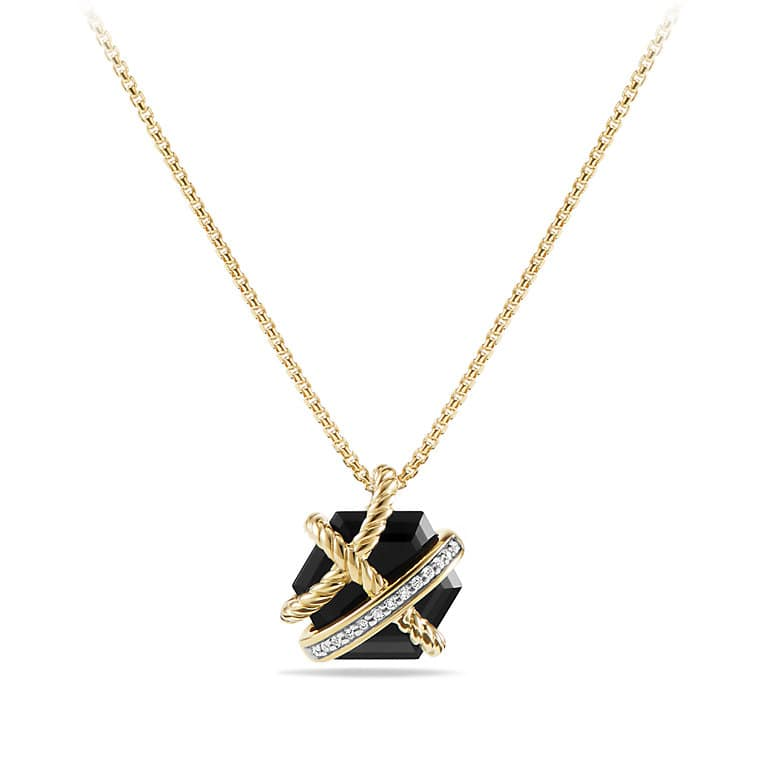 products with black pdp necklace cable in women gold main wrap diamonds onyx and collections