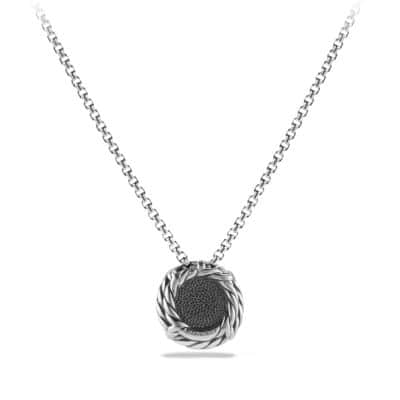 Châtelaine Pendant Necklace with Hematine