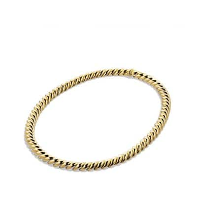 Hampton Cable Link Necklace in Gold