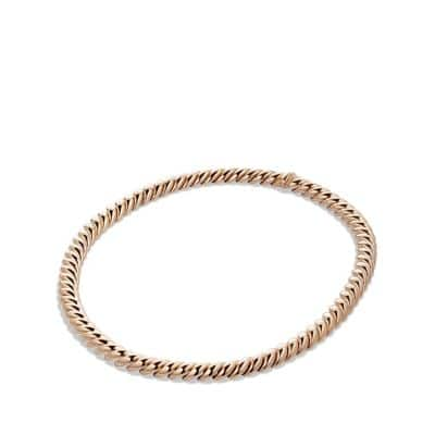 Hampton Cable Link Necklace in Rose Gold