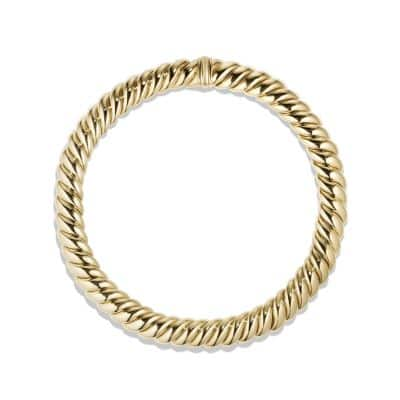 Hampton Cable Necklace in 18K Gold